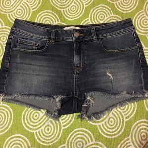 Victoria's Secret PINK denim shorts. Size 6